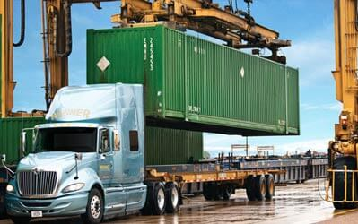 intermodal shipping canada usa