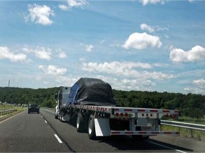 Open deck trailer Canada USA