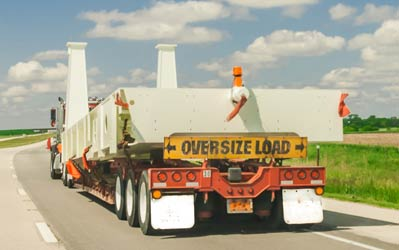 oversize load trucking Canada USA