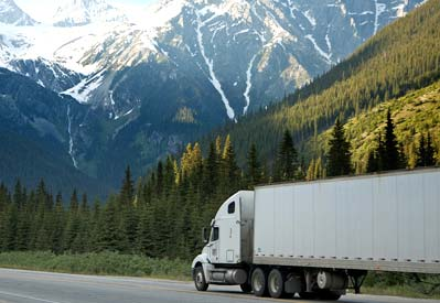 goods transported within Canada