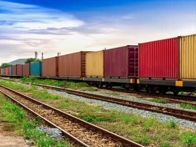Rail freight Canada and Brazil