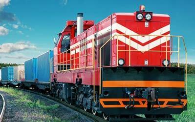 rail transport Canada and Brazil