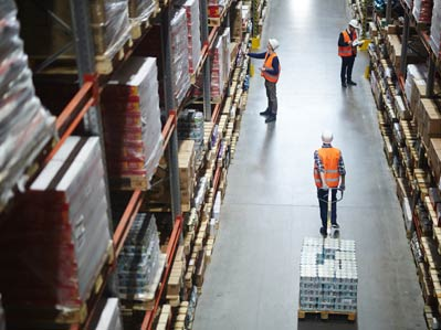 Warehousing and distribution Canada and Brazil